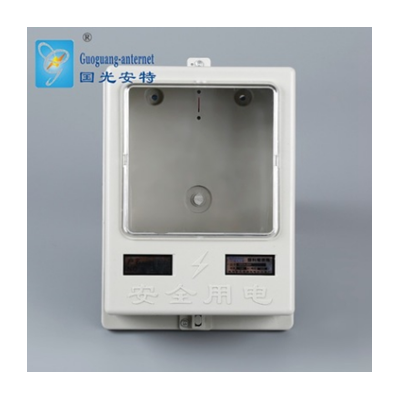專業批發高效阻燃單表箱 家用單戶塑料三相電子式電表箱