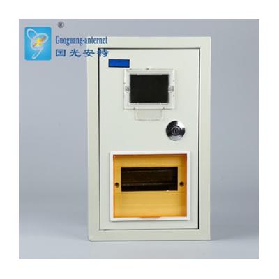 定做冷軋鋼板PZ40明裝6回路單表電表箱 防水鐵殼空開回路箱