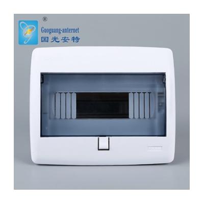 廠家推薦HPK暗裝10弱電回路箱 家用防水全塑料照明配電箱