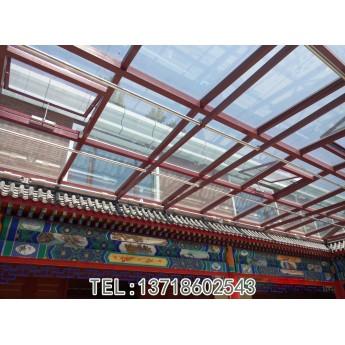 封四合院頂   古建四合院開天窗 以及北京陽光房材料怎么選?