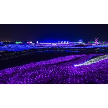 夢幻燈光節廠家 燈光節設計策劃公司