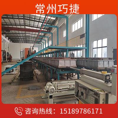 造型線 自動造型線 自動造型線廠家-常州巧捷鑄造設備有限公司