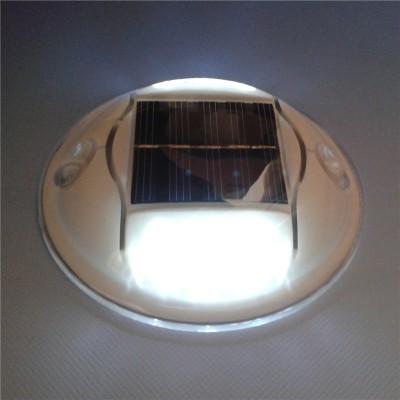 圓形塑料太陽能無線同步智能閃爍道釘