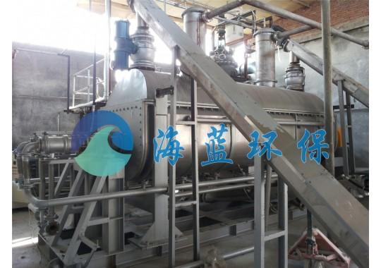 PTA工业污泥专用浆叶干燥机