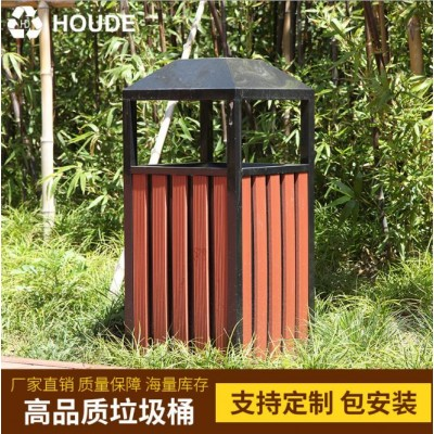 防腐園林垃圾箱