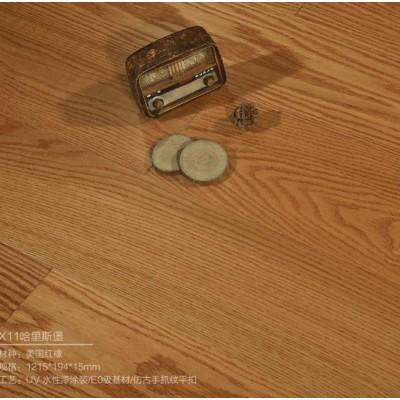 人字鋪橡木地板