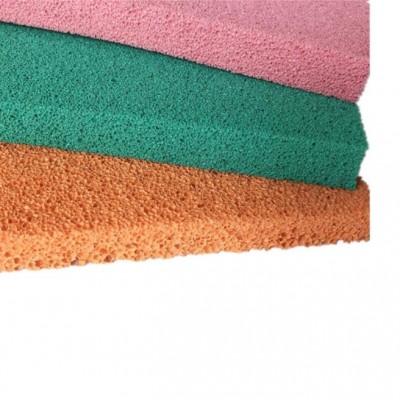 彩色天然橡胶泡绵