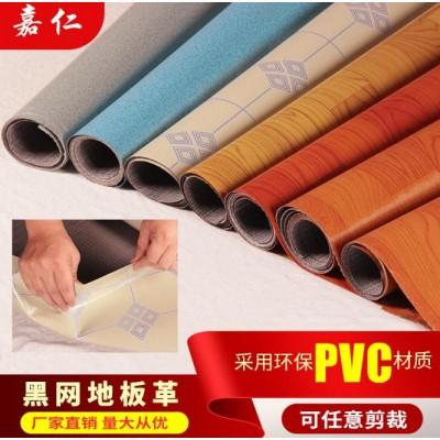 加强耐磨木纹卷材地板革