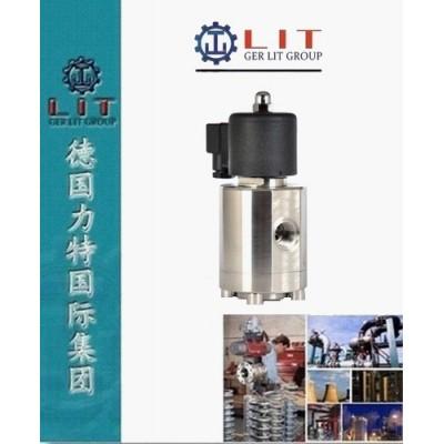 進口不銹鋼管螺紋電磁閥 德國LIT力特品牌