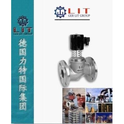 進口法蘭高溫電磁閥 德國LIT力特品牌