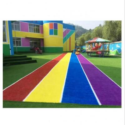 幼兒園彩虹跑道