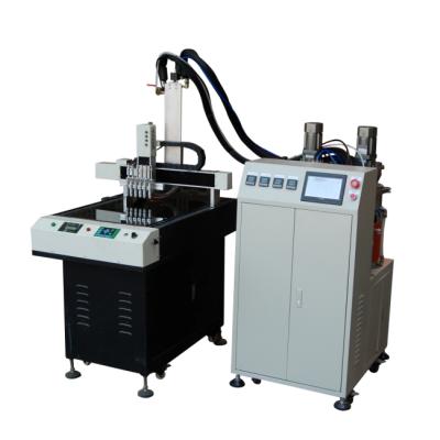 匯立固AB透明環氧混膠機,自動滴膠機,真空注膠機