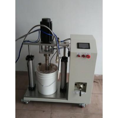 20L高粘度膠水壓盤式打膠機、電磁爐點膠機