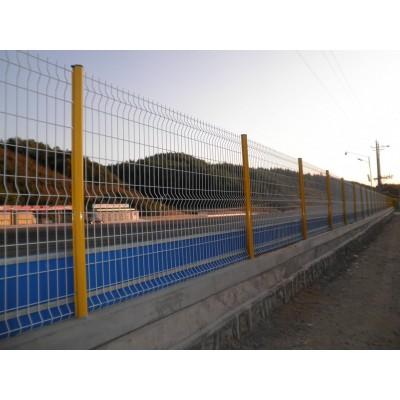 廠區圍墻護欄網 出口歐式圍欄 清遠熱鍍鋅護欄網定做