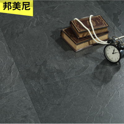 灰色仿水泥石紋方形拼花地板
