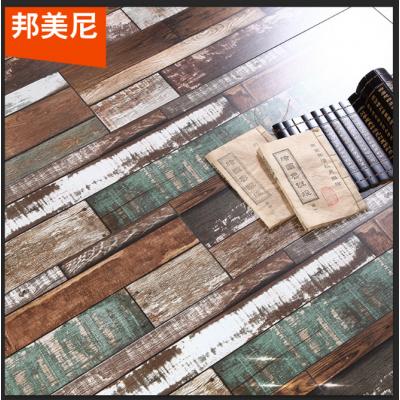 懷舊復古背景墻地板