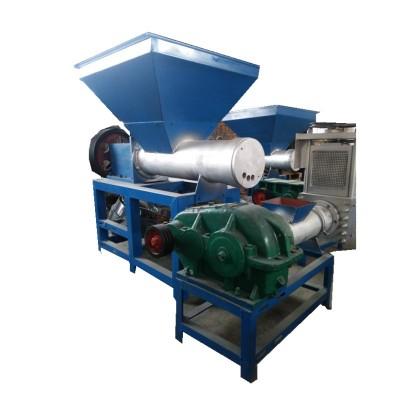 泡沫造粒機 廢舊泡沫再生造粒機 物料受到混煉和塑化