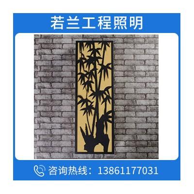 新中式花園大門外墻防水室外長條墻壁燈