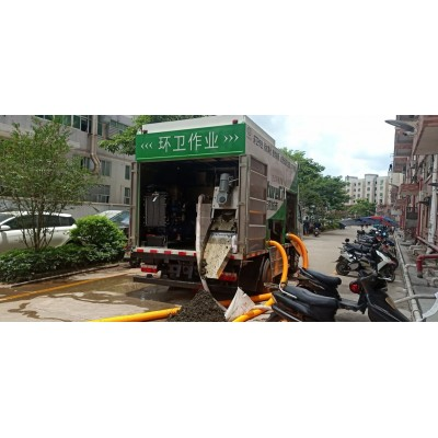 污水处理车,东风多利卡污水处理车,污水处理净化车,干湿分离车