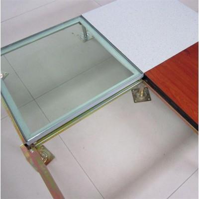 鋼化玻璃防靜電地板