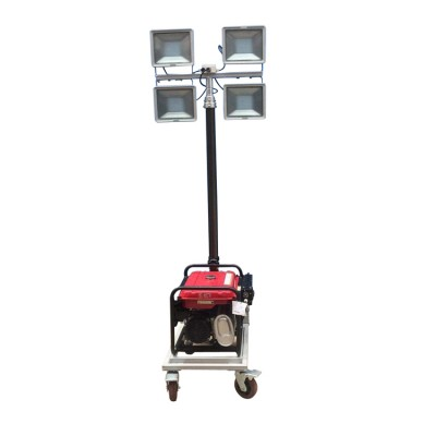 野外移动照明车自动升降氙气汽油发电机工作灯移动式
