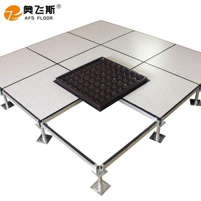全鋼防靜電地板機房地板抗靜電防火陶瓷靜電地板學校架空地板