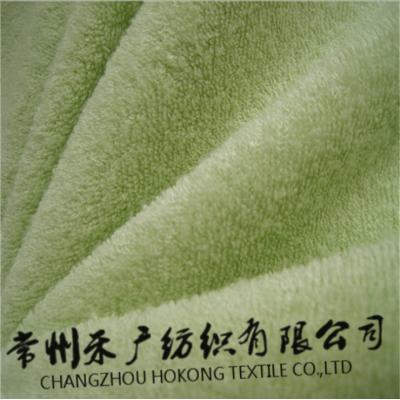 80竹20滌竹纖維雙面毛巾布