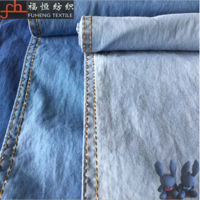 靛藍染色青年布