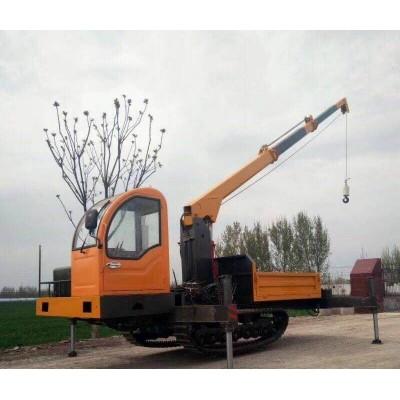 新品營銷 履帶式吊機 改裝履帶運輸車 專業定制加厚大架