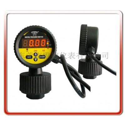 一體隔膜式全PP數顯式電接點壓力表