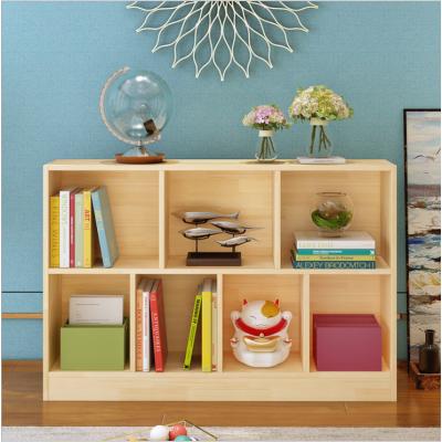 包郵實木書架桌上置物架簡約學生教室書架