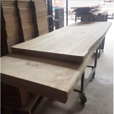 定做實木板原木板一字隔板吧臺