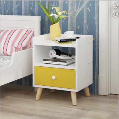 簡約床頭柜現代臥室收納柜簡易床邊儲物柜