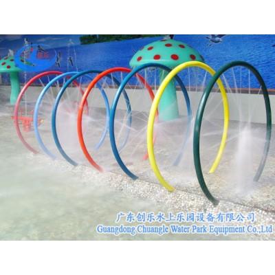 广东创乐 儿童戏水设备 戏水小品