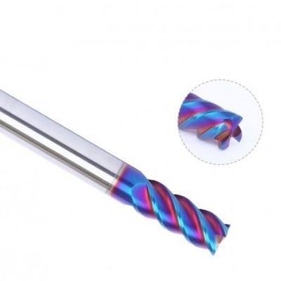 4刃整體直柄鎢鋼平刀