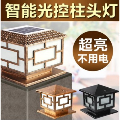 方形立柱灯