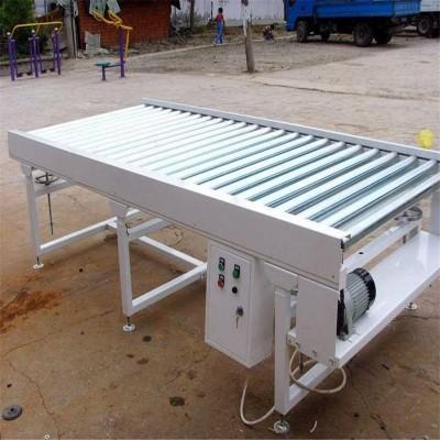 鋅帶動力滾筒輸送機倉庫傳送流水線
