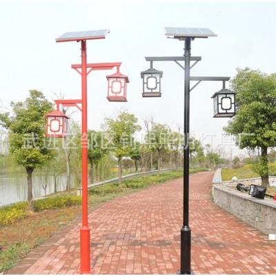 太陽能仿古庭院燈