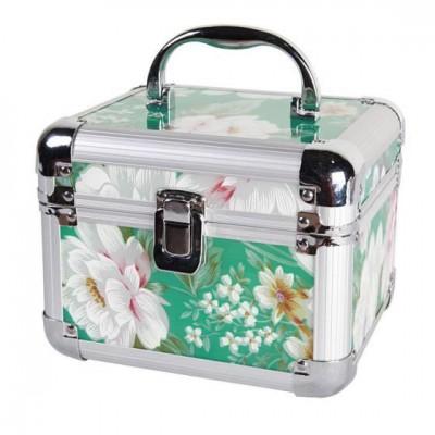 全铝镁合金化妆箱收纳箱手提箱旅行美容箱小型行李箱女