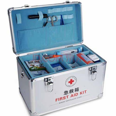 家庭裝便攜特大小號多層全套出診急救收納盒醫療箱
