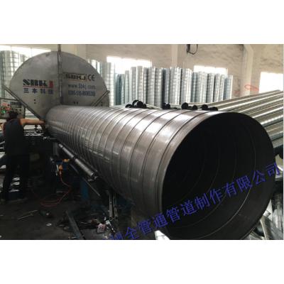 304不銹鋼螺旋風管 不銹鋼排氣管