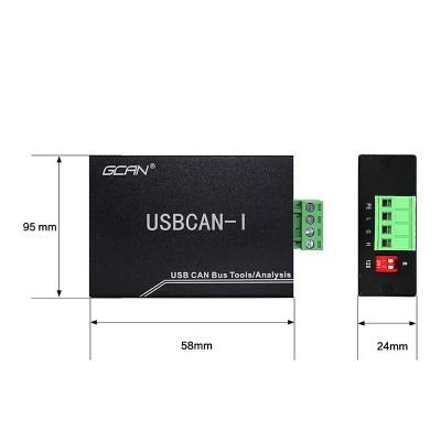廣成科技can 總線工具USBCAN I PRO