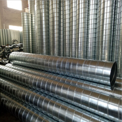 不銹鋼鍍鋅螺旋風管 白鐵皮排風煙管