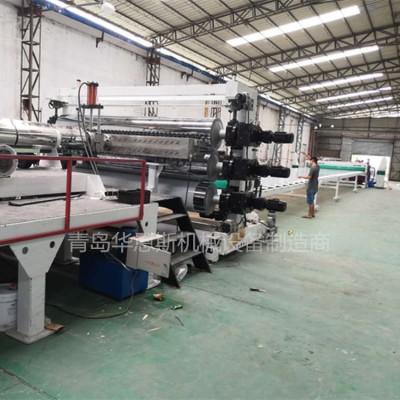 PE PP ABS高速板材生產線設備