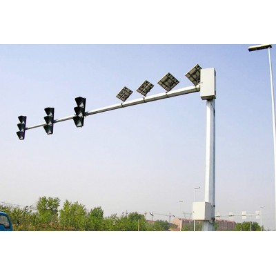 紅綠燈信號桿