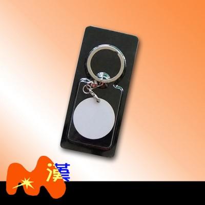 熱轉印MDF木質鑰匙扣A307-1簡裝