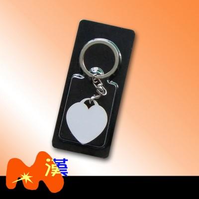 熱轉印MDF木質鑰匙扣A321-1簡裝
