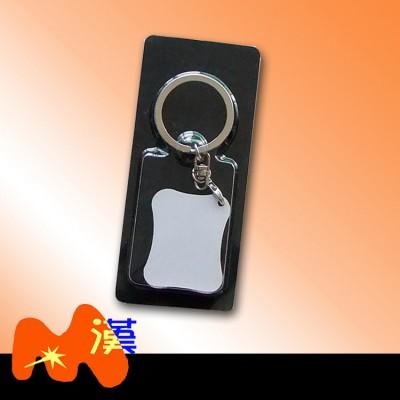 熱轉印MDF木質鑰匙扣A306-1簡裝