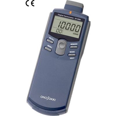 小野测器接触与非接触式数字手持式转速表HT-5500