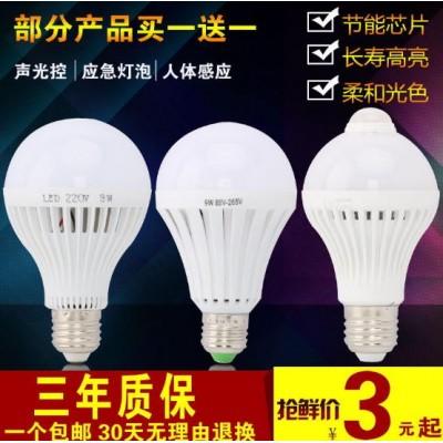 LED人體感應燈泡